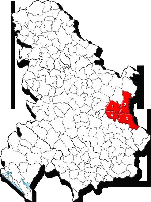 Srbija okruzi