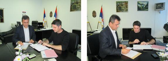 U Borskom upravnom okrugu održan je radni sastanak načelnika Borskog upravnog okruga gospodina Miroslava Kneževića i načelnika Zaječarskog upravnog okruga gospodina Vladana Paunovića.