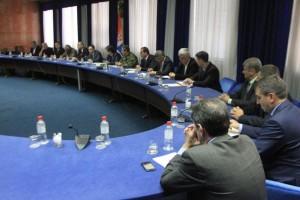 Министар Вулин са начелницима округа