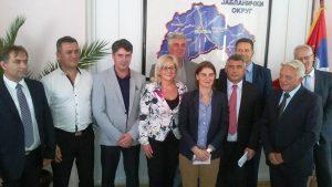 Састанак министарке Анe Брнабић са начелницима округа југоисточне Србије
