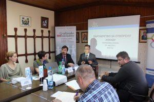 Представљање Акционог плана за спровођење иницијативе Партнерство за отворену управу