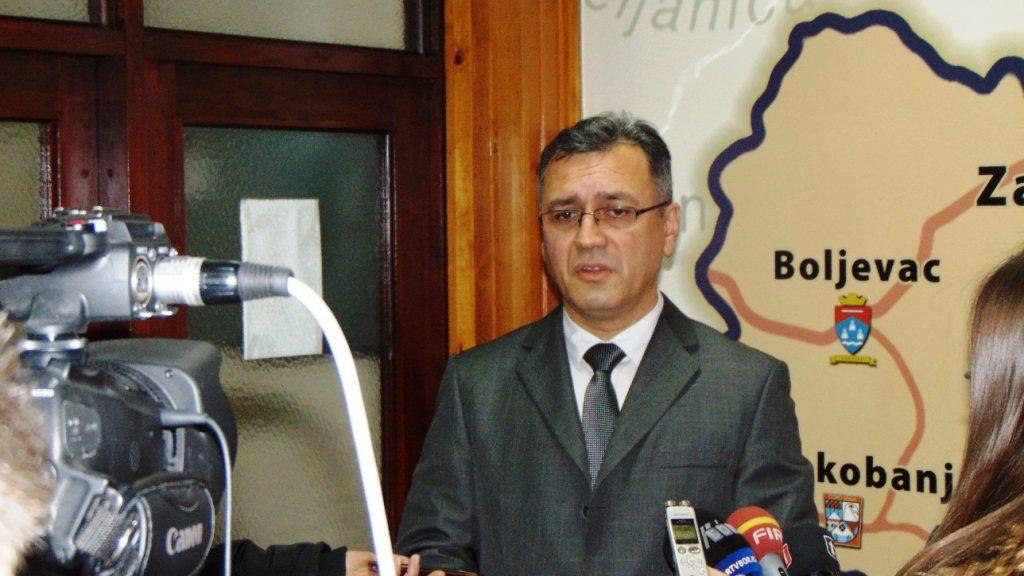 Vladan Paunović, načelnik Zaječarskog upravnog okruga