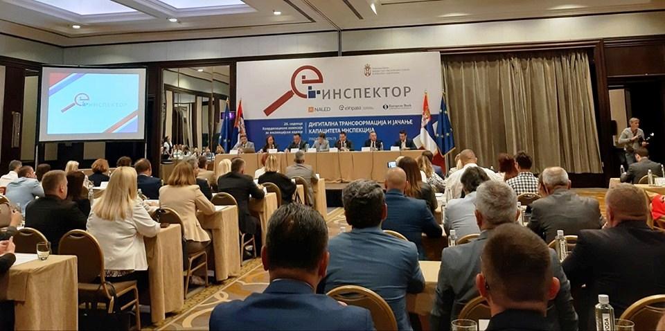 сл.4. састанак 26. седници Координационе комисије за инспекцијски надзор